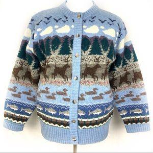 Orvis Vintage Outdoor Grandpa Cardigan Sweater